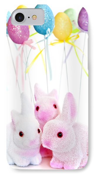 Easter Bunny Toys IPhone Case by Elena Elisseeva