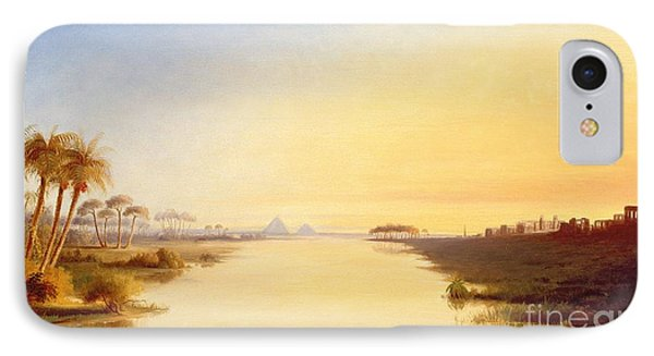 Egyptian Oasis IPhone Case by John Williams