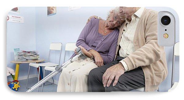 Elderly Patients Phone Case by Adam Gault