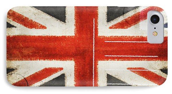 England Flag Postcard Phone Case by Setsiri Silapasuwanchai