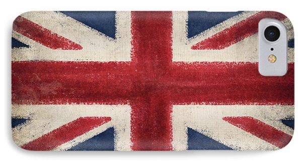 England Flag Phone Case by Setsiri Silapasuwanchai