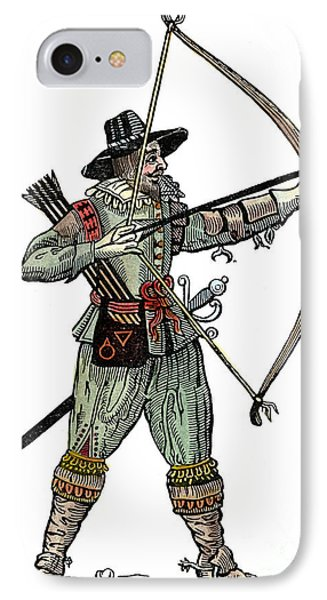English Archer, 1634 Phone Case by Granger