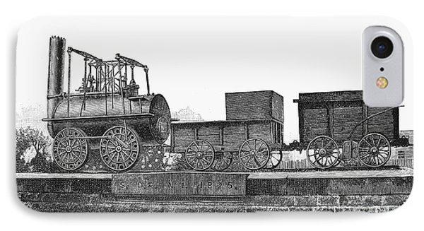 English Locomotive, 1825 Phone Case by Granger