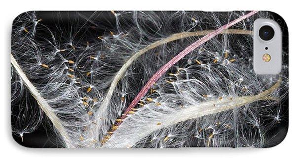Epilobium Angustifolium Seeds Phone Case by Dr Keith Wheeler