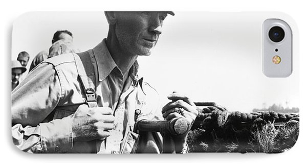 Ernie Pyle (1900-1945). American Journalist. Photograph, C1942 Phone Case by Granger