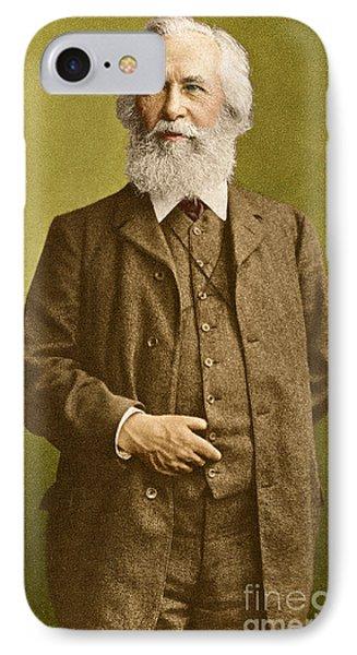Ernst Haeckel, German Biologist IPhone Case