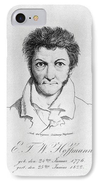 Ernst Hoffmann (1776-1822) Phone Case by Granger