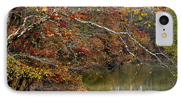 Fall Along West Fork River Phone Case by Thomas R Fletcher
