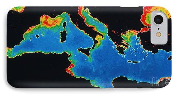 False-col Satellite Image Phone Case by Dr. Gene Feldman, NASA Goddard Space Flight Center