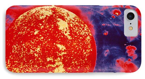 False-colour Skylab Image Of A Solar Prominence Phone Case by Nasa