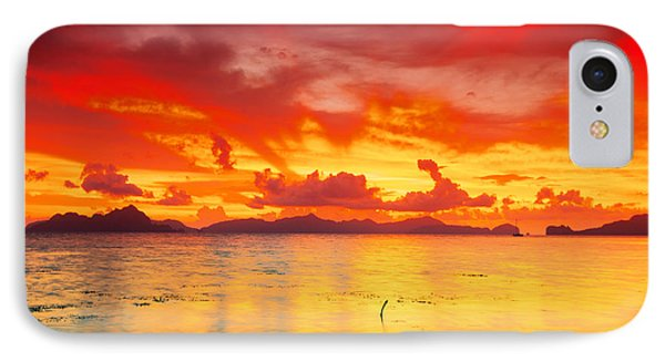 Fantasy Sunset Phone Case by MotHaiBaPhoto Prints