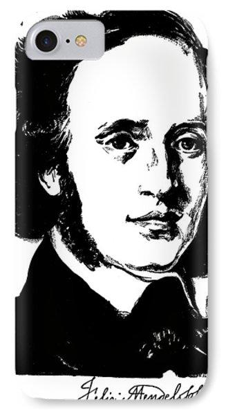Felix Mendelssohn Phone Case by Granger