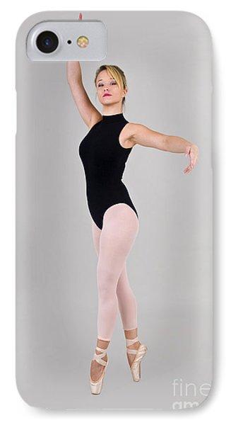 Female Dancer Phone Case by Ilan Rosen