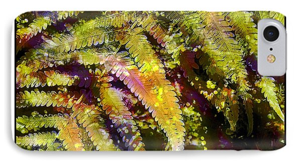 Fern In Dappled Light IPhone Case by Judi Bagwell