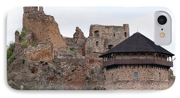 IPhone Case featuring the photograph Filakovo Hrad - Castle by Les Palenik