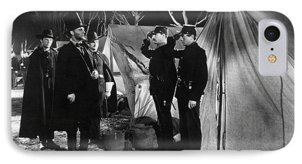 Film Still: Abraham Lincoln IPhone Case by Granger