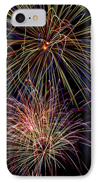 Fireworks Celebration IPhone Case by Garry Gay