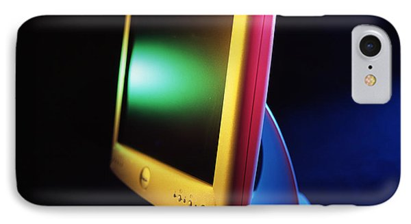 Flat-panel Computer Screen IPhone Case