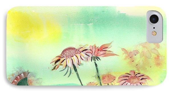 Flowers 2 Phone Case by Anil Nene