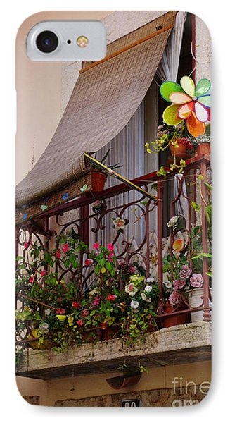 Flowery Balcony IPhone Case