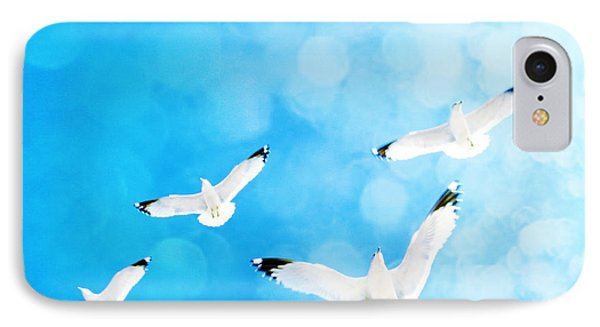 IPhone Case featuring the photograph Fly Free by Robin Dickinson