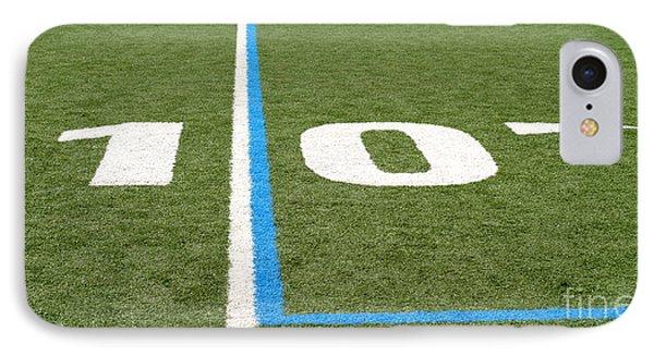 IPhone Case featuring the photograph Football Field Ten by Henrik Lehnerer