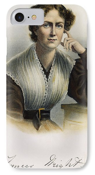 Frances Wright (1795-1852) Phone Case by Granger