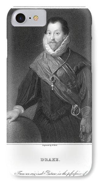 Francis Drake (1540?-1596) Phone Case by Granger