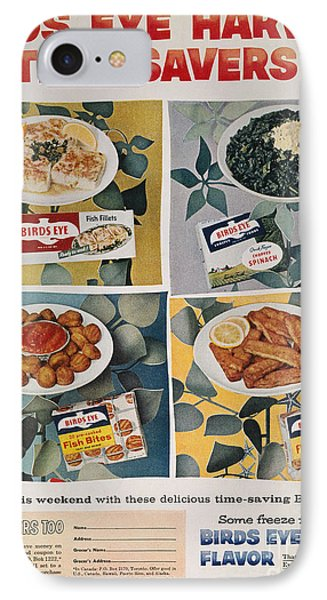 Frozen Food Ad, 1957 Phone Case by Granger