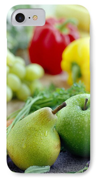 Fruits And Vegetables Phone Case by David Munns
