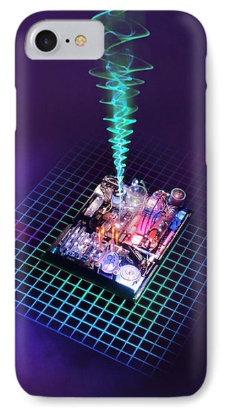 Future Computing, Conceptual Image Phone Case by Richard Kail