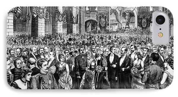 Garfield Inauguration, 1881 IPhone Case