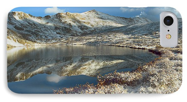 Geissler Mountain And Linkins Lake Phone Case by Tim Fitzharris