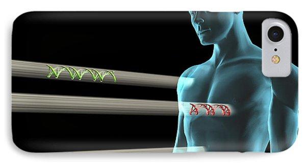 Gene Therapy, Conceptual Artwork Phone Case by Laguna Design