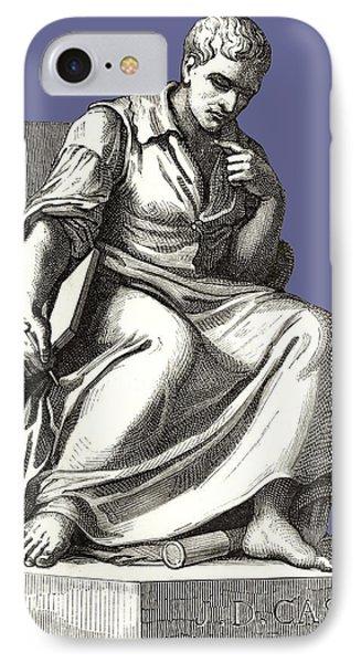Giovanni Cassini, Italian Astronomer Phone Case by Sheila Terry