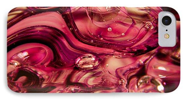 Glass Macro V Phone Case by David Patterson