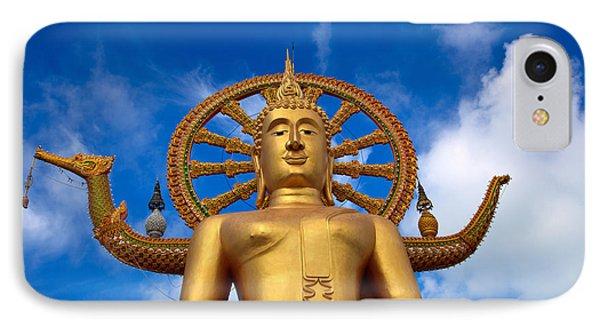 Golden Buddha Phone Case by Adrian Evans