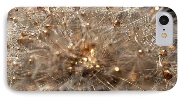 IPhone Case featuring the photograph Golden Flower by Sylvie Leandre