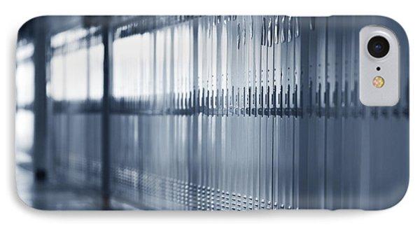 Grade School Lockers Phone Case by Will & Deni McIntyre