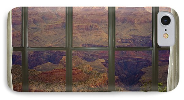 Grand Canyon Springtime Bay Window View Phone Case by James BO  Insogna
