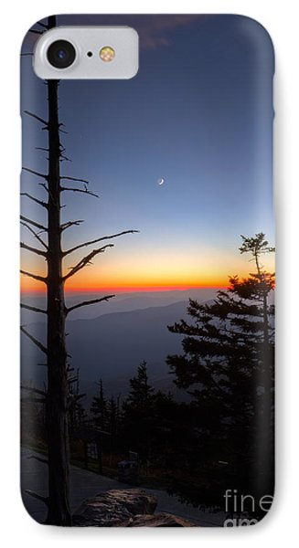 Mountain Sunset iPhone 7 Case - Great Smokie Mountains Sunset by Dustin K Ryan