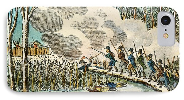 Great Swamp Fight, 1675 IPhone Case