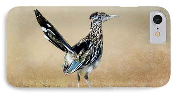 Greater Roadrunner IPhone Case by Betty LaRue
