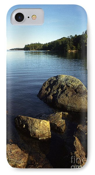 Greenlaw Cove Deer Isle Maine Phone Case by Thomas R Fletcher