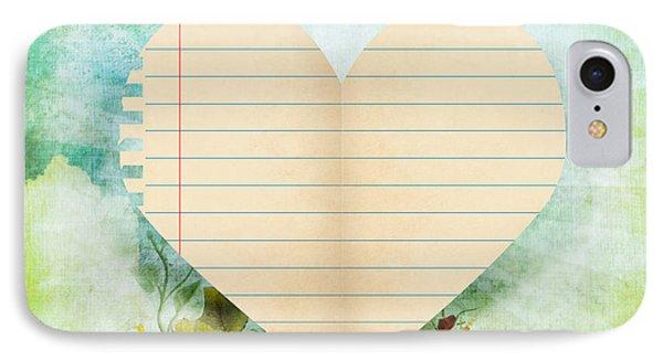 greeting card Valentine day Phone Case by Setsiri Silapasuwanchai