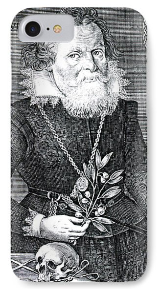 Gregor Horstius, German Physician Phone Case by Science Source