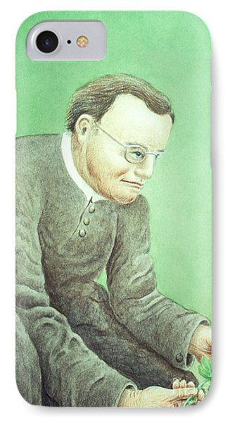 Gregor Mendel, Father Of Genetics Phone Case by Science Source