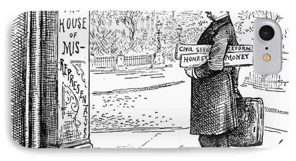Grover Cleveland Cartoon Phone Case by Granger