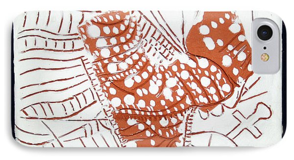 Guardian Angel - Tile Phone Case by Gloria Ssali