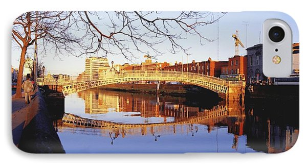 Hapenny Bridge, River Liffey, Dublin Phone Case by The Irish Image Collection